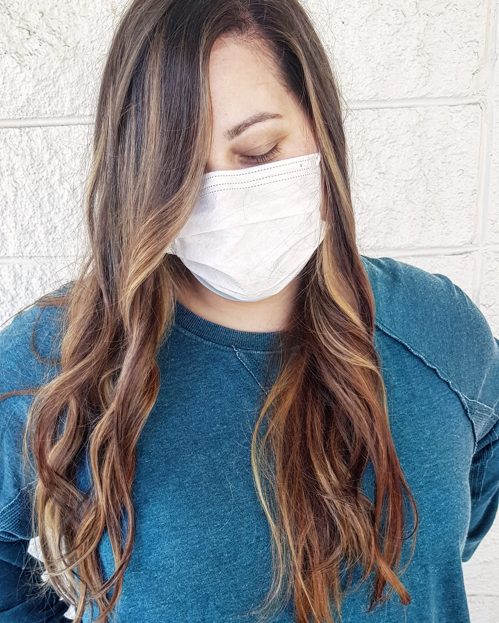 beautiful girl, little chocolate, balayage